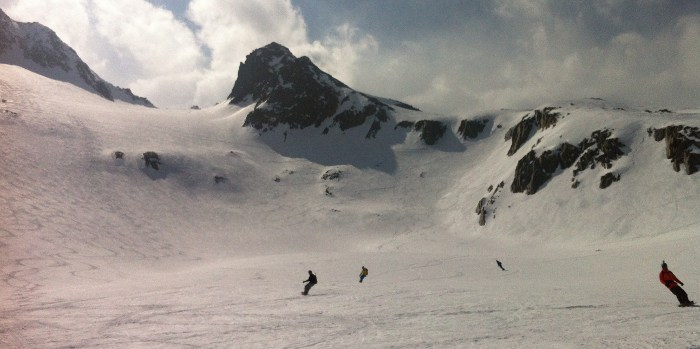 vallee blanche conditions