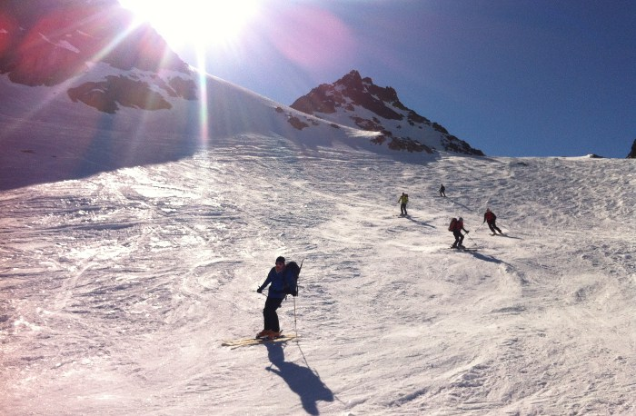vallee blanche touring